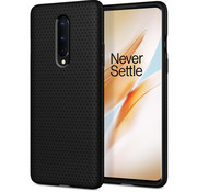 Spigen OnePlus 8 Gehäuse Liquid Air Matt Black