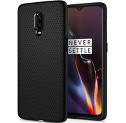 Spigen OnePlus 6T Gehäuse Liquid Air Matt Black