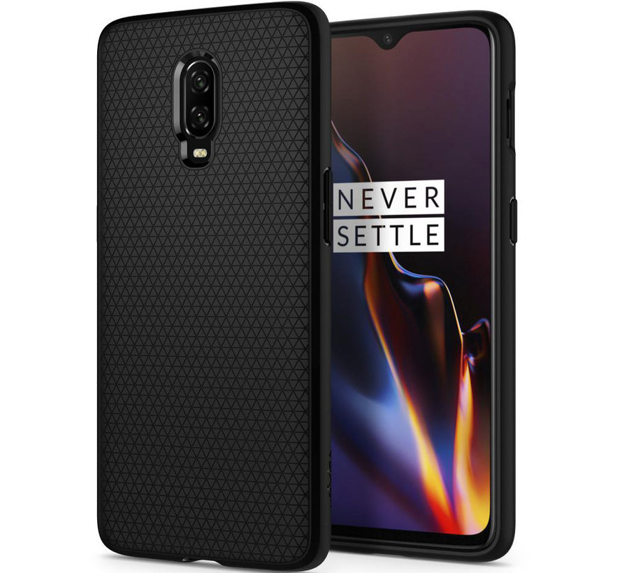 OnePlus 6T Gehäuse Liquid Air Matt Black