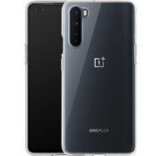 OnePlus Nord Hoesje Clear Bumper Transparant