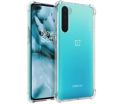 OPPRO OnePlus Nord Hoesje Xtreme TPU Transparant