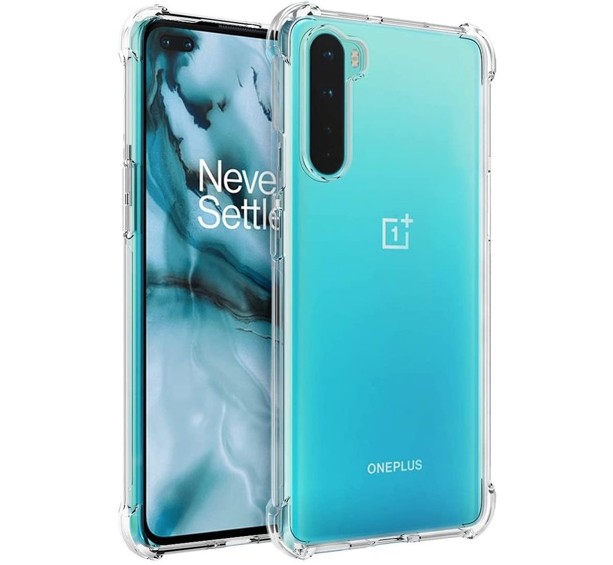 OnePlus Nord Hoesje Xtreme TPU Transparant