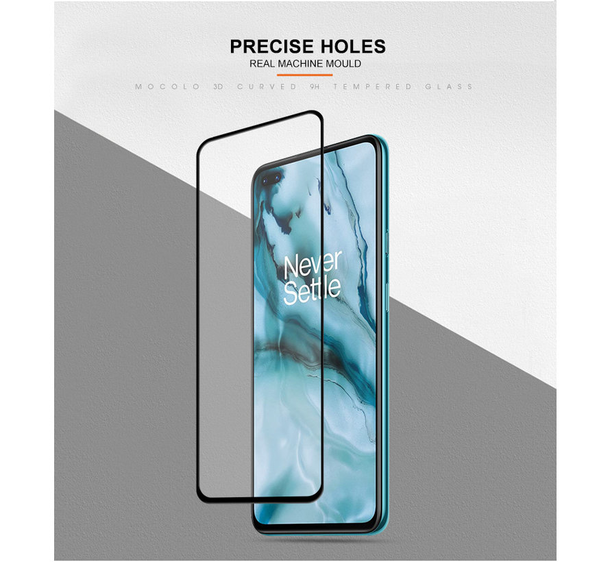 OnePlus Nord Screen Protector 3D Tempered Glass