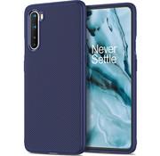 OPPRO OnePlus Nord Case TPU GripLine Blau