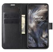 OPPRO OnePlus Nord Wallet Flip Case Schwarz