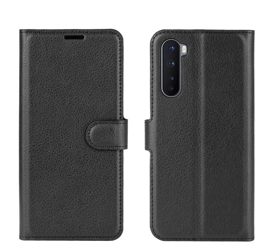 OnePlus Nord Wallet Flip Case Zwart