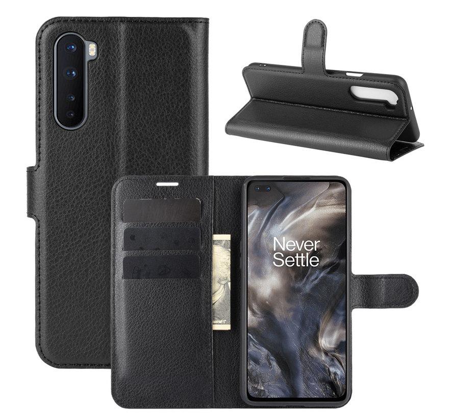 OnePlus Nord Wallet Flip Case Schwarz