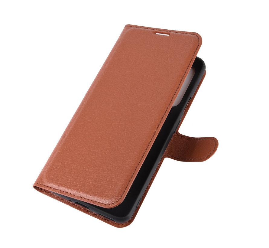 OnePlus Nord Wallet Flip Case Bruin