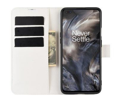 OPPRO OnePlus Nord Wallet Flip Case Weiß