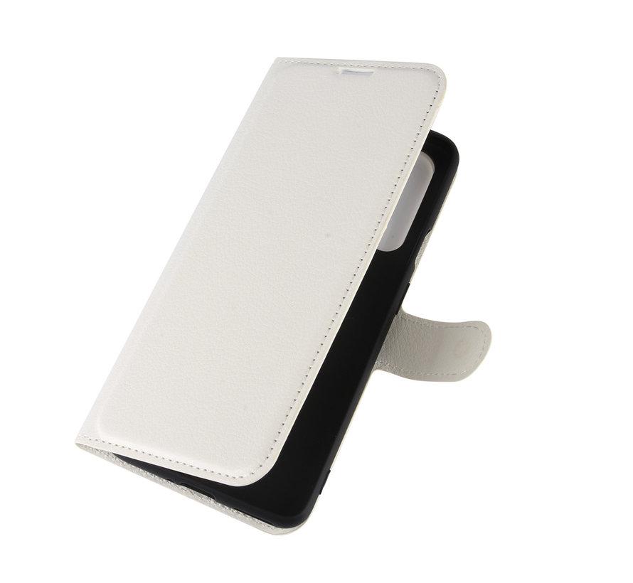 OnePlus Nord Wallet Flip Case Weiß