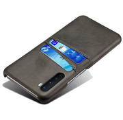 OPPRO OnePlus Nord Case Slim Leather Card Holder Black