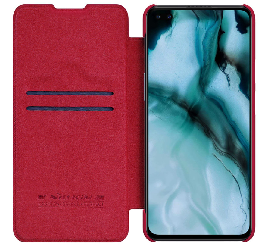 OnePlus Nord Flip Case Qin Rood