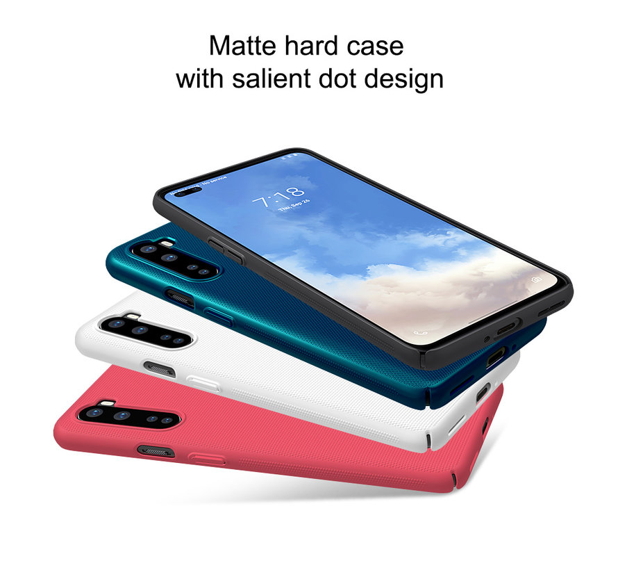 OnePlus Nord Hoesje Super Frosted Shield Wit