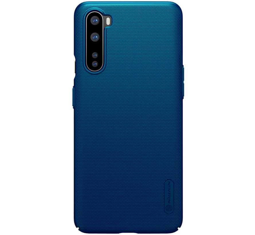 OnePlus Nord Hoesje Super Frosted Shield Peacock Blue