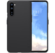 Nillkin OnePlus Nord Fall Super Frosted Shield Schwarz