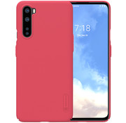 Nillkin OnePlus Nord Hoesje Super Frosted Shield Rood