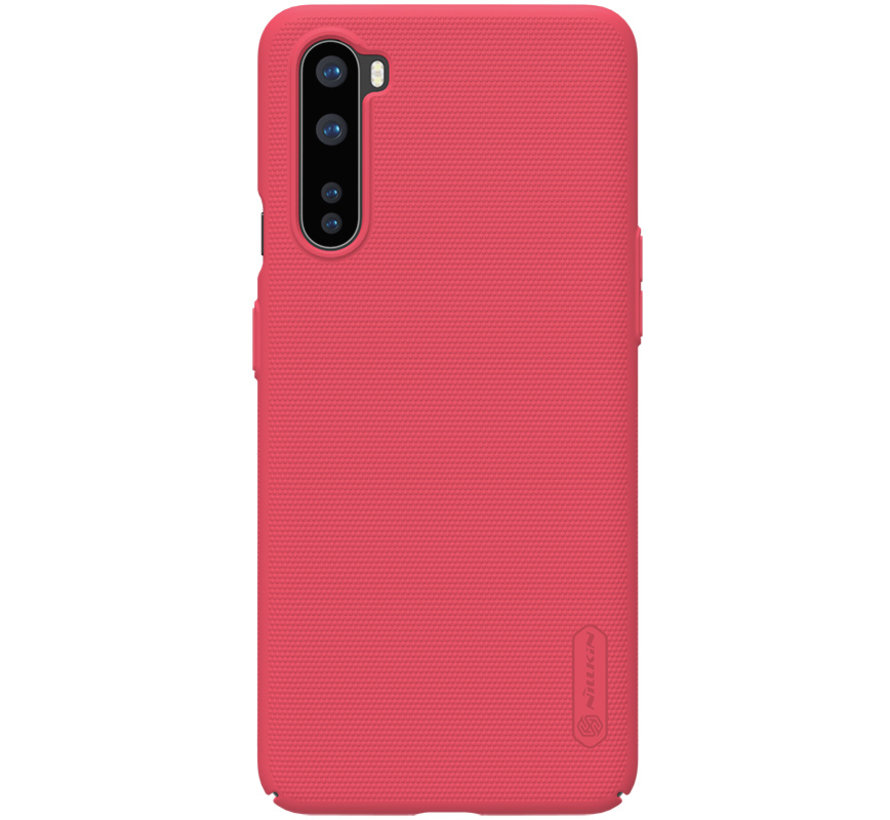 OnePlus Nord Fall Super Frosted Shield Red
