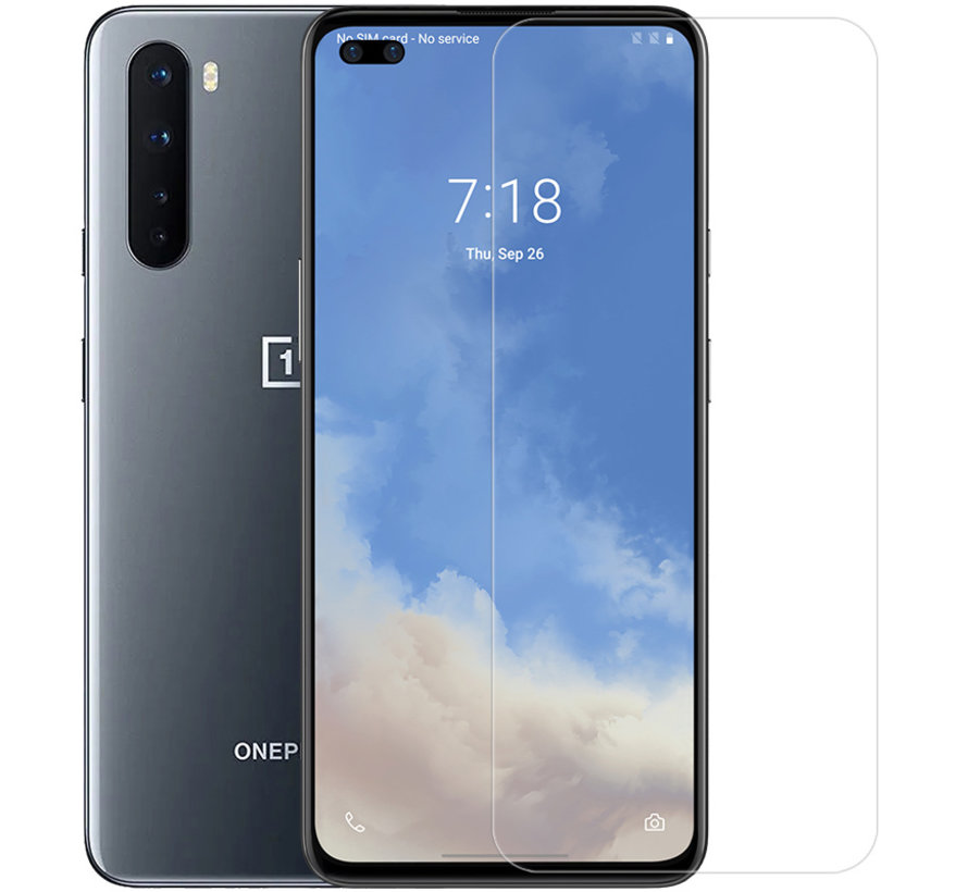 OnePlus Nord Tempered Glazen Screen Protector 9H+ Pro 2.5D