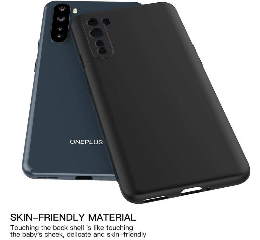 OnePlus Nord Case Flüssiges Silikon Schwarz