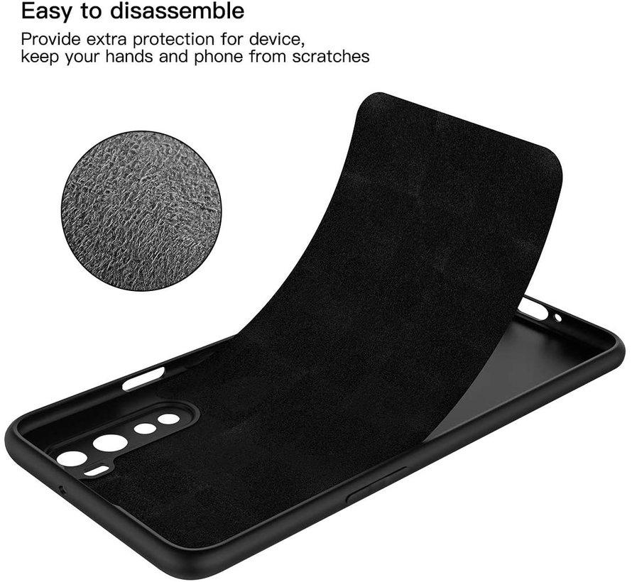 OnePlus Nord Hoesje Liquid Silicone Zwart
