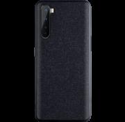 OPPRO OnePlus Nord Case Canvas Grain Schwarz