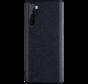 OnePlus Nord Case Canvas Grain Schwarz
