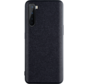 OnePlus Nord Hoesje Canvas Grain Zwart