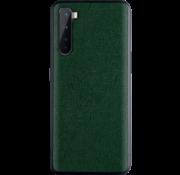 OPPRO OnePlus Nord Case Leinwand Grain Green