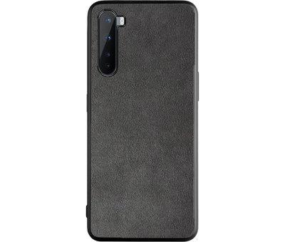 OPPRO OnePlus Nord Hoesje Premium Alcantara