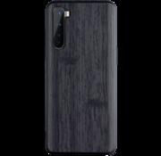 OPPRO OnePlus Nord Hoesje Wood Grain Zwart