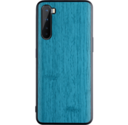 OPPRO OnePlus Nord Case Wood Grain Blue