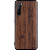 OPPRO OnePlus Nord Case Wood Grain Brown