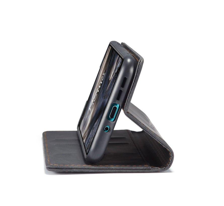 OnePlus Nord Brieftasche Vintage Leder Schwarz