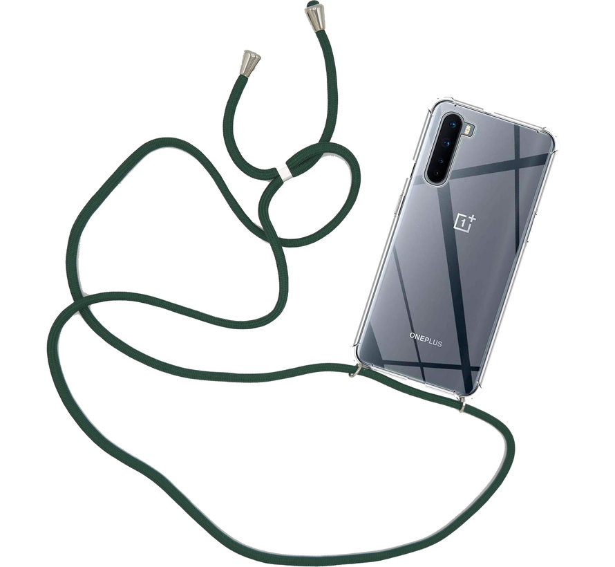 OnePlus Nord Case mit Cord Deep Green