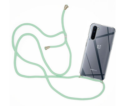 OPPRO OnePlus Nord Case mit Cord Mint Green