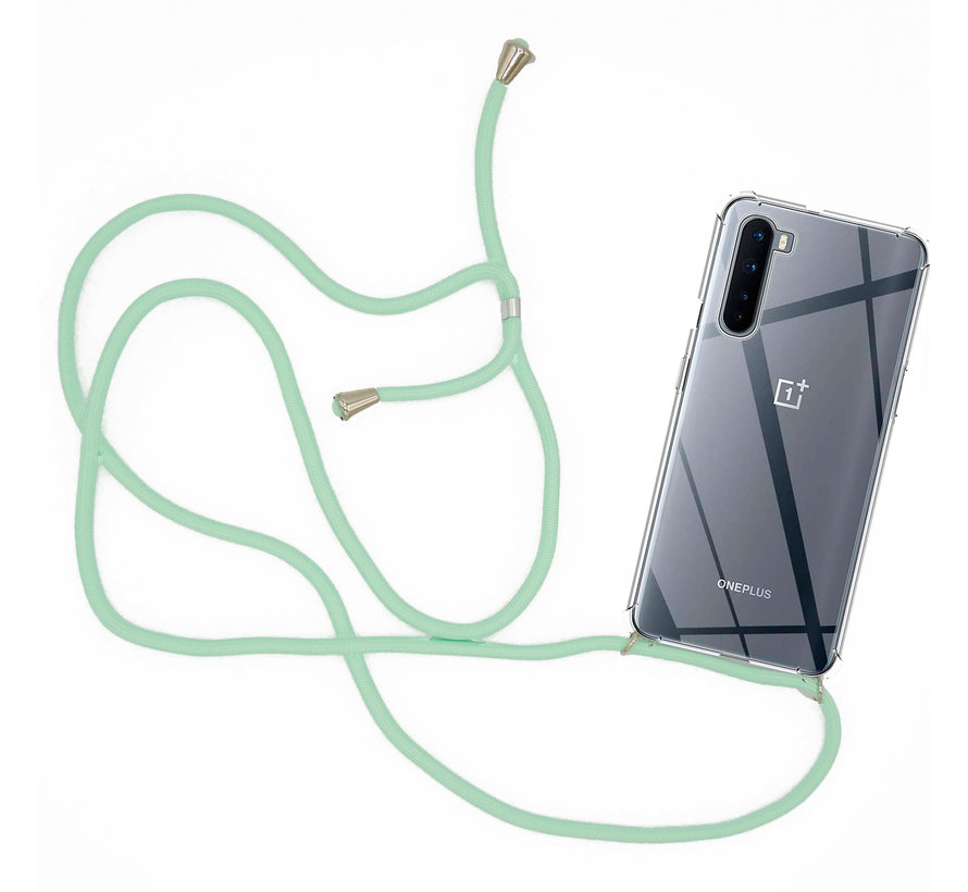 OnePlus Nord Case mit Cord Mint Green