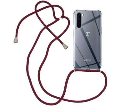 OPPRO OnePlus Nord Case mit Cord Bordeaux Red