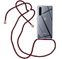OnePlus Nord Case mit Cord Bordeaux Red