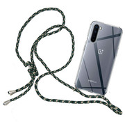 OPPRO OnePlus Nord Case mit Cord Green & Black