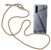 OPPRO OnePlus Nord Case mit Cord Taupe