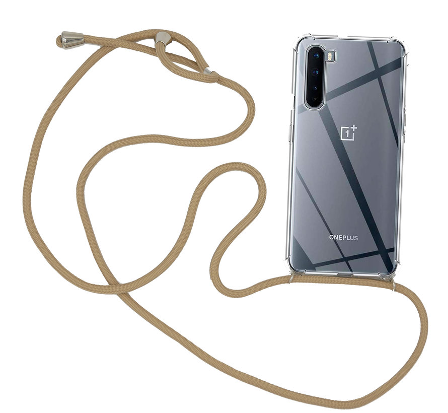 OnePlus Nord Case mit Cord Taupe