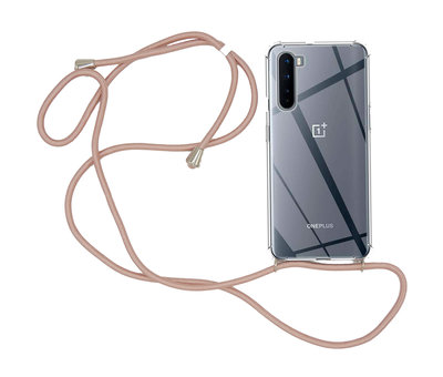 OPPRO OnePlus Nord Case mit Cord Rose Gold
