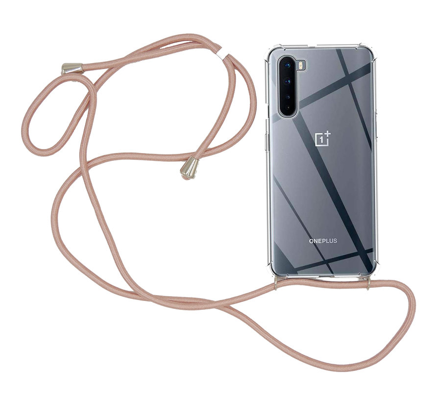OnePlus Nord Case mit Cord Rose Gold