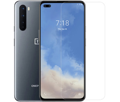 OnePlus Nord Clear Bumper Case Transparent