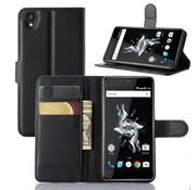 OPPRO OnePlus X Wallet Flip Case Schwarz