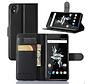 OnePlus X Wallet Flip Case Zwart