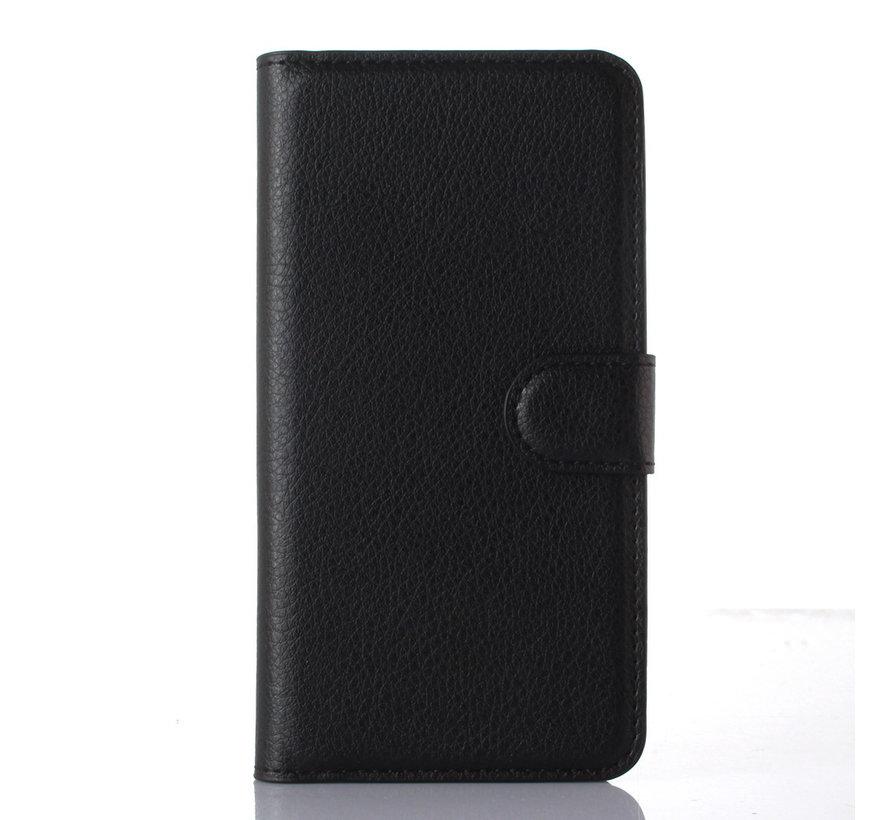 OnePlus X Wallet Flip Case Schwarz