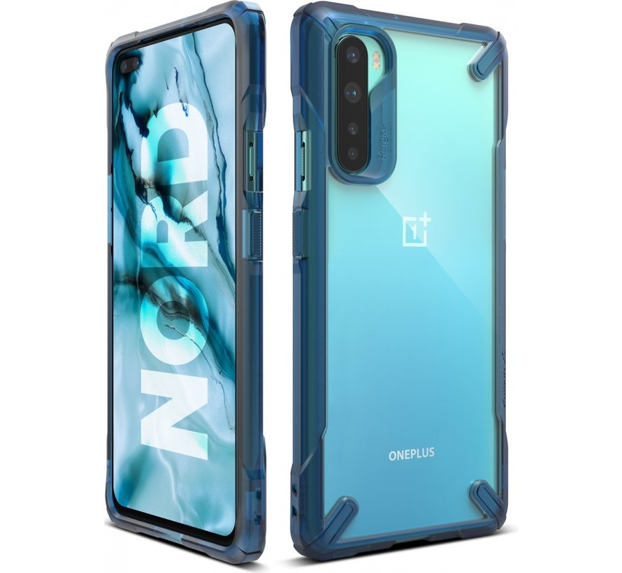 OnePlus Nord Hoesje Fusion X Space Blauw