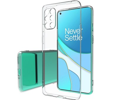OPPRO OnePlus 8T  Hoesje TPU Transparant
