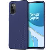OPPRO OnePlus 8T Case TPU GripLine Blue